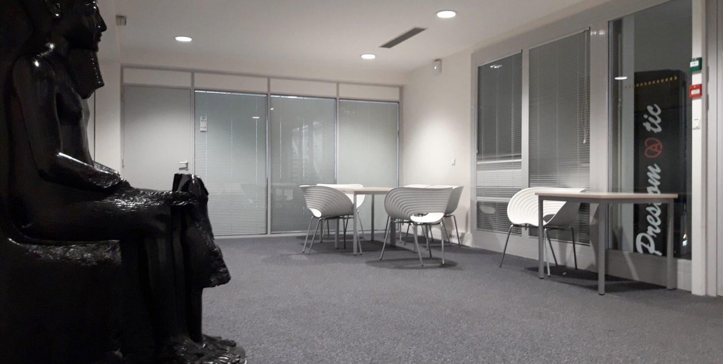 Sas de confidentialité de l'espace VIP / CCI Campus © LGa