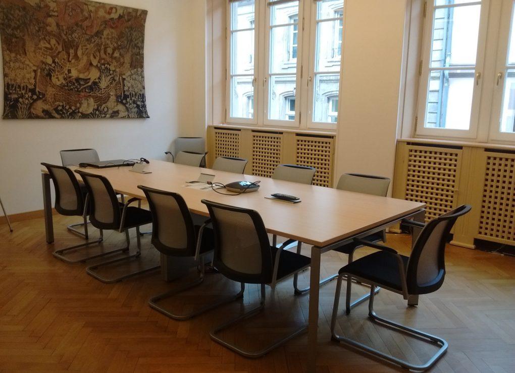 Salle 241 / CCI Strasbourg © Serge Wartenberg
