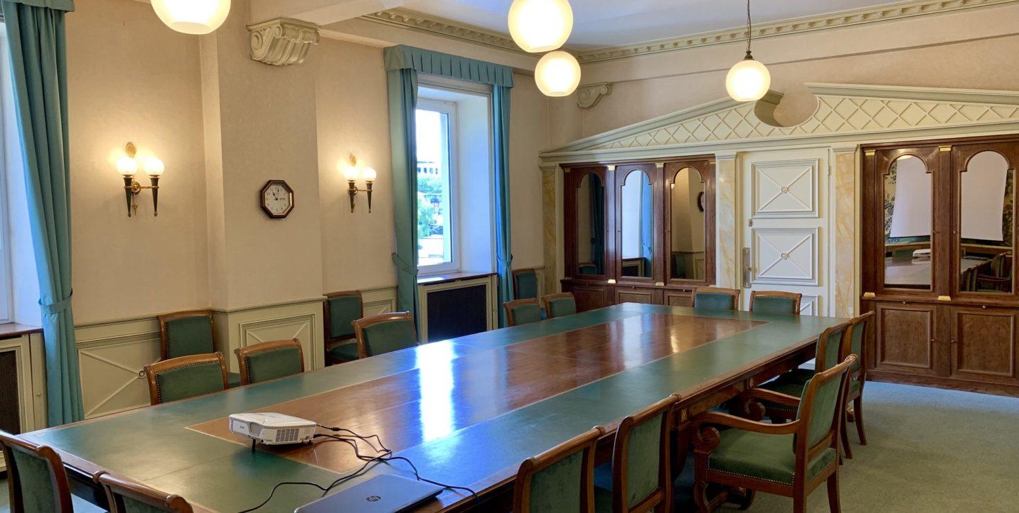 Salle du Conseil / CCI Mulhouse © Hugues Vauthier