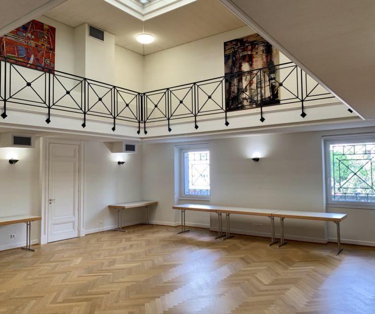 Salle du Rhin / CCI Mulhouse © Hugues Vauthier