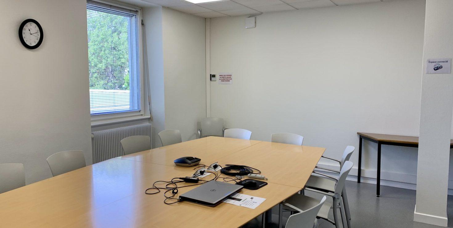 Salle de la Largue / CCI Mulhouse © Hugues Vauthier