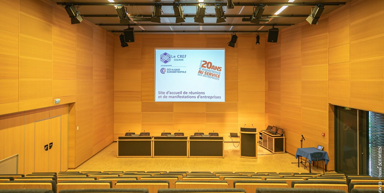Auditorium Campus / Le CREF Colmar © Pascal SCHWIEN pour Panoramaweb