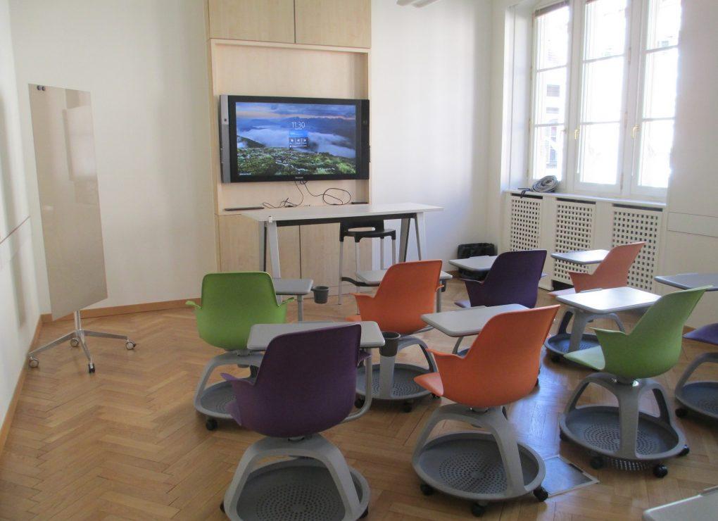 Salle 240 / CCI Strasbourg © Serge WARTENBERG