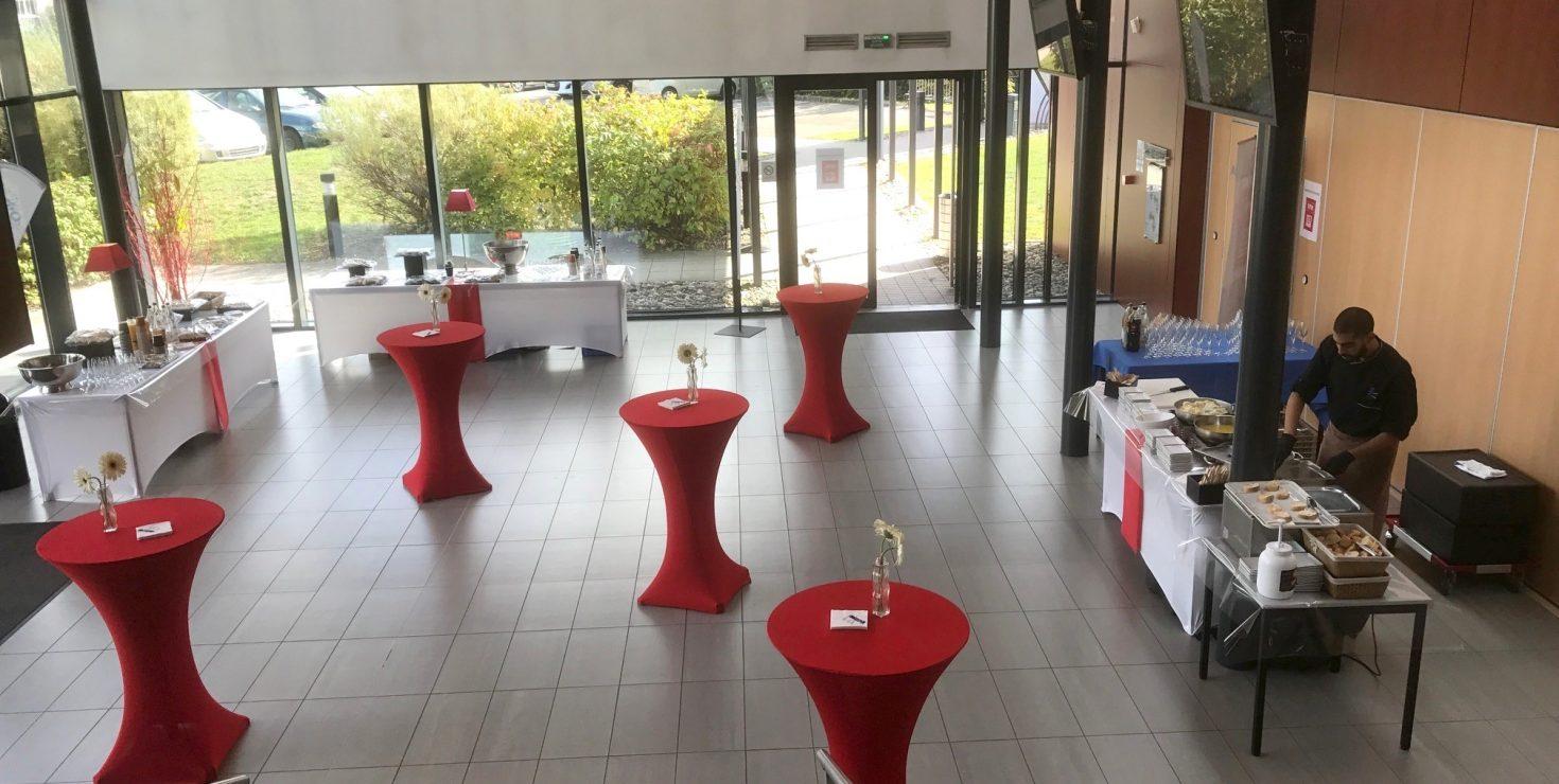 Hall CCI Campus / Le CREF Colmar © Christian SOLER