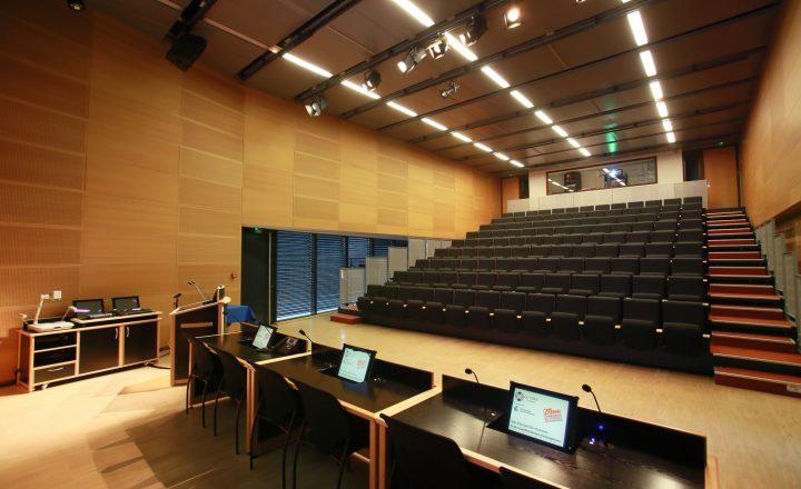 Auditorium Campus / Le CREF Colmar © Christian Soler